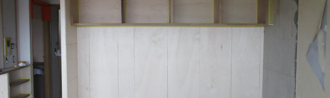 Ymz邸/大工工事完了/塗装工事