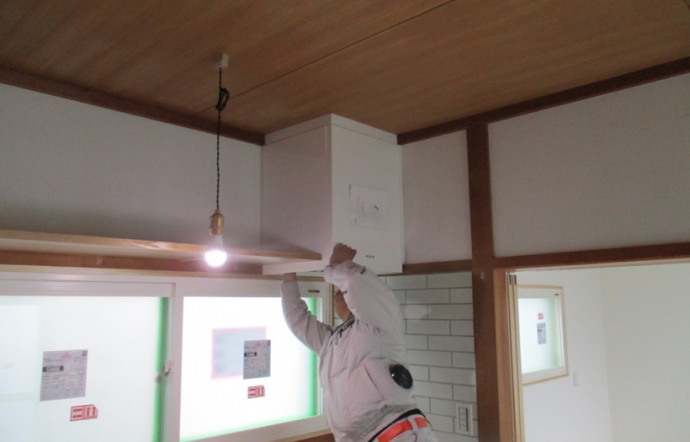 Ngt邸/建具工事、器具設置
