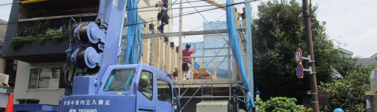 Ykr邸/建て方工事