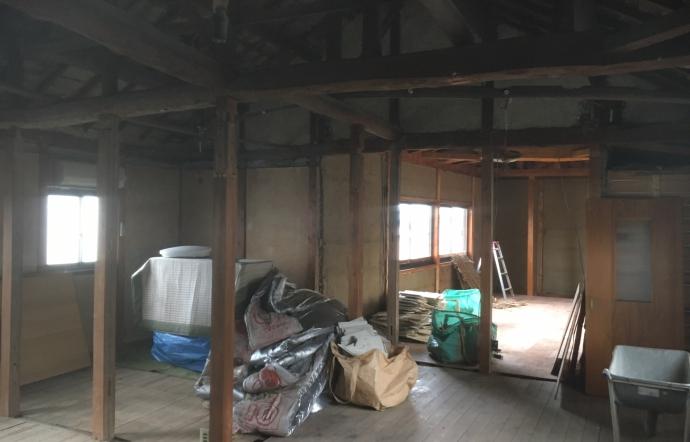 Fkn邸/解体工事