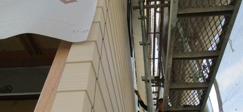 Ktn邸/外壁工事