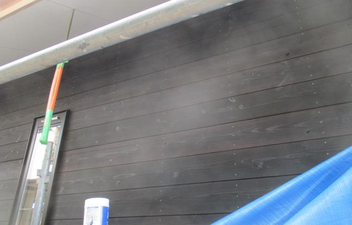 Tdt邸/外壁焼杉貼り工事