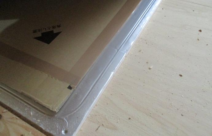 Tkh邸/床暖パネル、電気配線、フローリング貼り