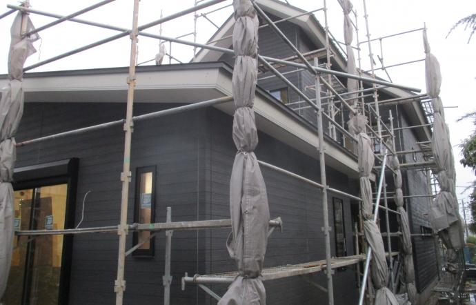 Hgm邸/外壁工事