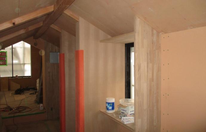 Tdt邸/大工工事、外壁塗装