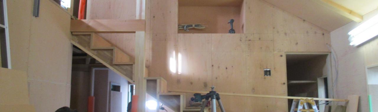 Tdt邸/階段工事