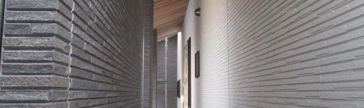 Knz邸/外壁工事