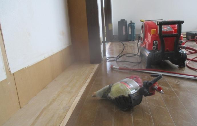 Yms邸/大工工事開始