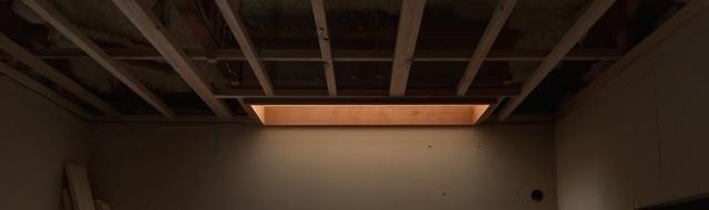 Tbc邸/天井下地・電気配線