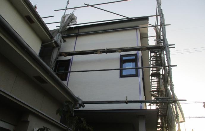 Iwt邸/コーキング工事