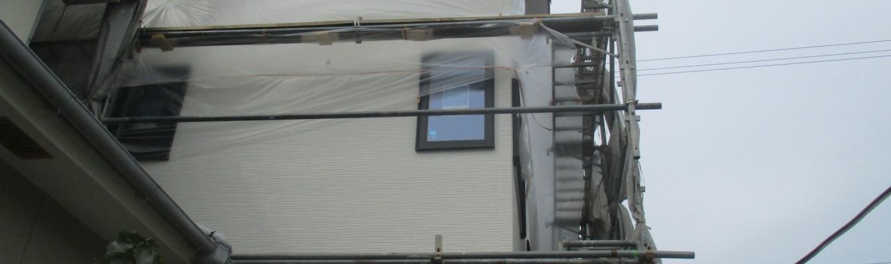 Iwt邸/外部塗装