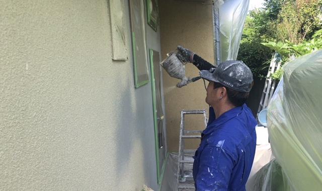 Tks邸/外壁塗装