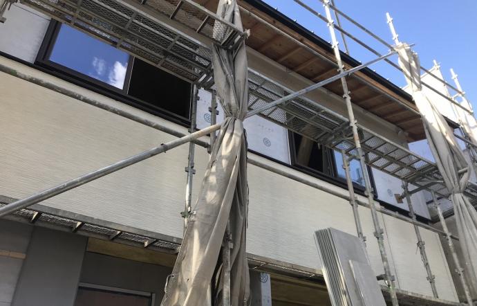 Ogw邸/外壁工事