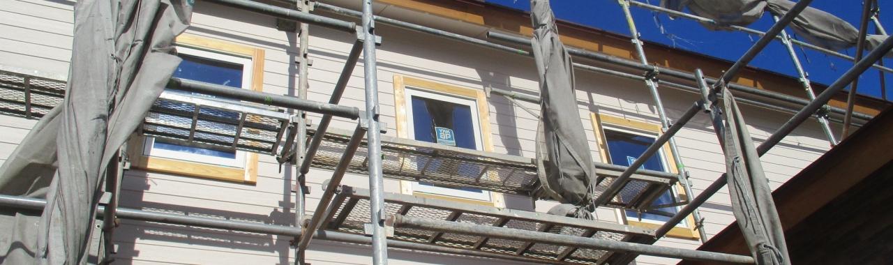 Nsk邸/大工工事・外壁工事