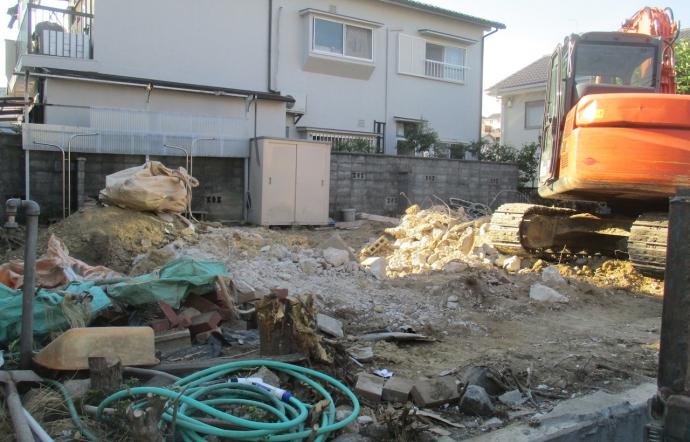 Nkg邸/解体工事
