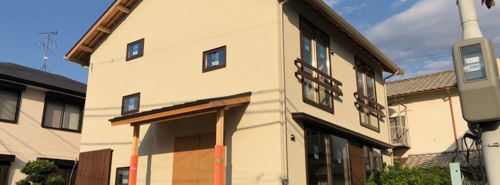 Tok邸/外壁塗装完了