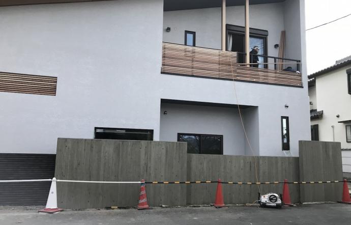 Mti邸/外構工事
