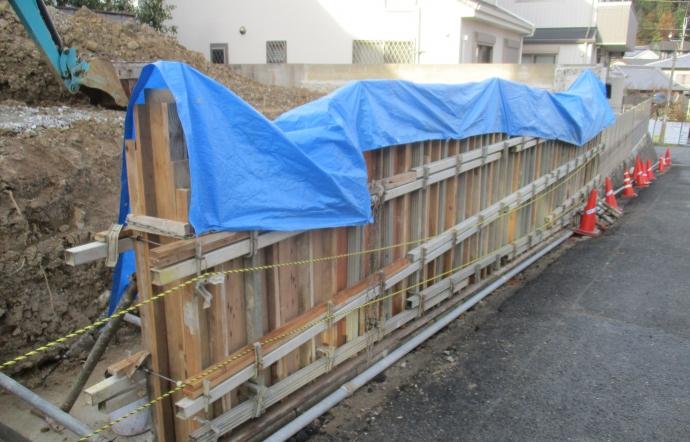 Nkg邸/擁壁工事