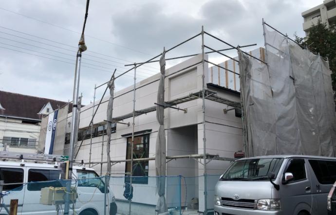 Ksi邸/大工工事・外壁工事