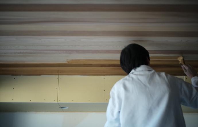 Ysn邸/内部塗装