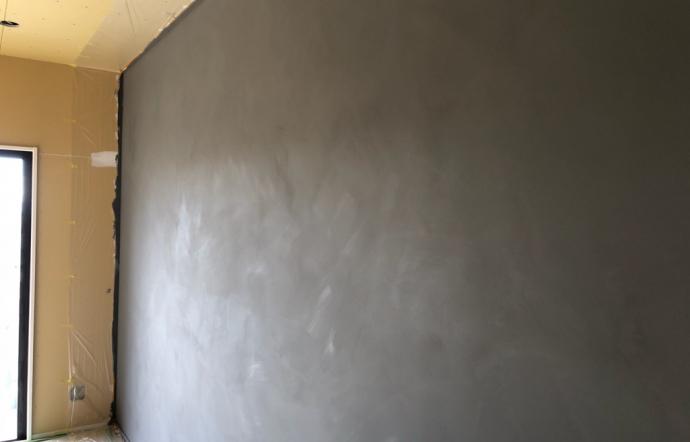 Nks邸/内部塗装