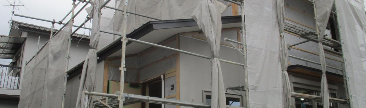 Nkg邸/外壁工事