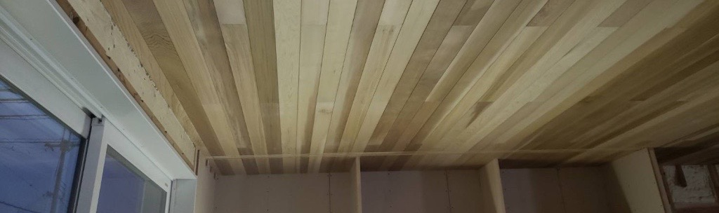 Akn邸/天井張り工事