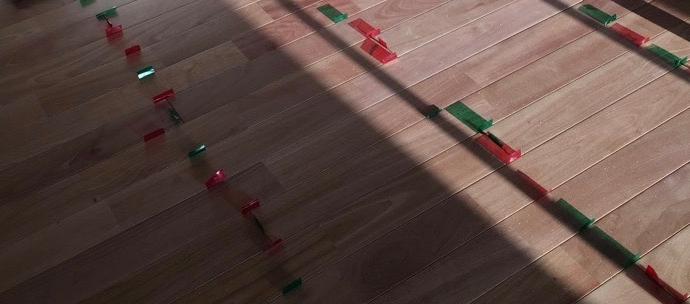 Uck邸/床暖房,フローリング,間仕切り壁造作