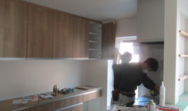 Nkg邸/キッチン施工