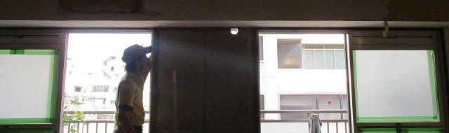Kwi邸/天井下地、間仕切り造作