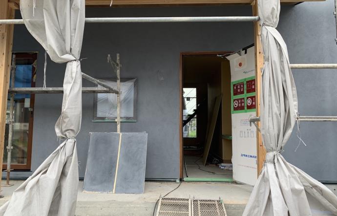 Hiy邸/外壁塗装