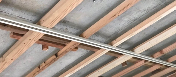 Kwi邸/電気工事,天井ボード