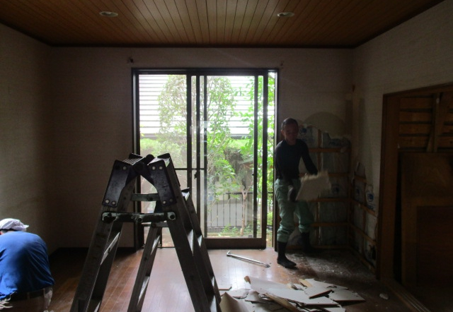 Ucn邸/解体工事