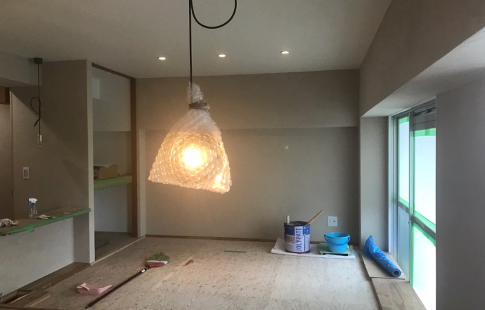 Kwi邸/照明器具取付