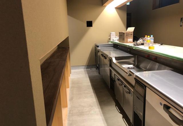 Okd邸/厨房機器設置