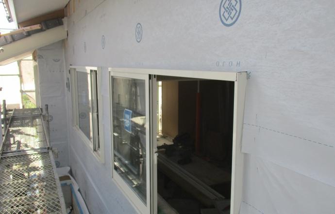 Nmh邸/外壁工事