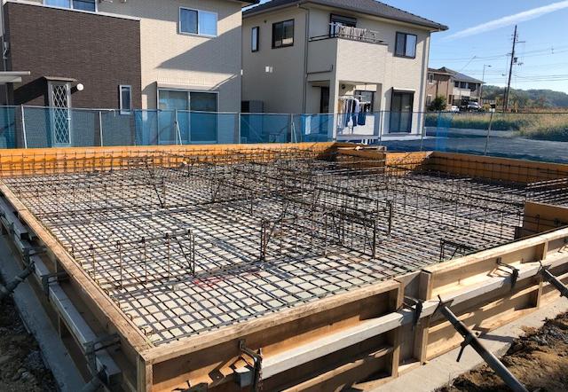 Nki邸/鉄筋工事