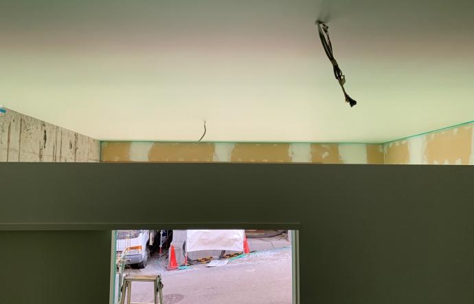 Wak邸/塗装、クロス工事