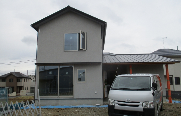 Nki邸/足場解体、内装工事