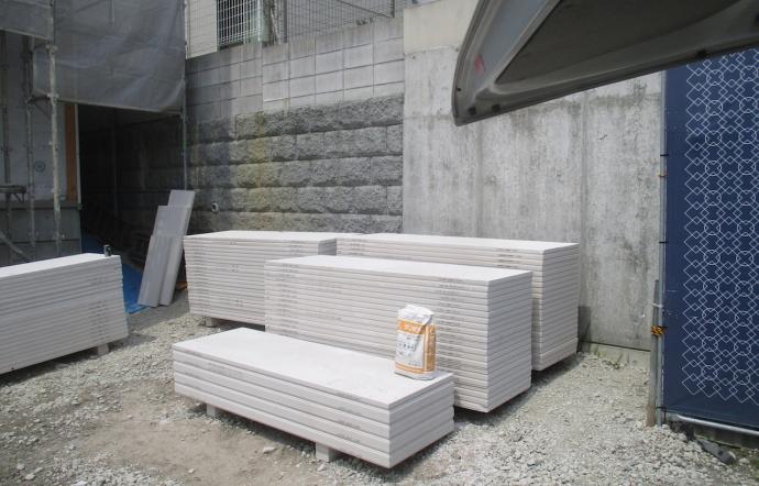 Kws邸/外壁工事