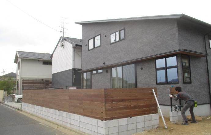 Nsn邸/外構工事