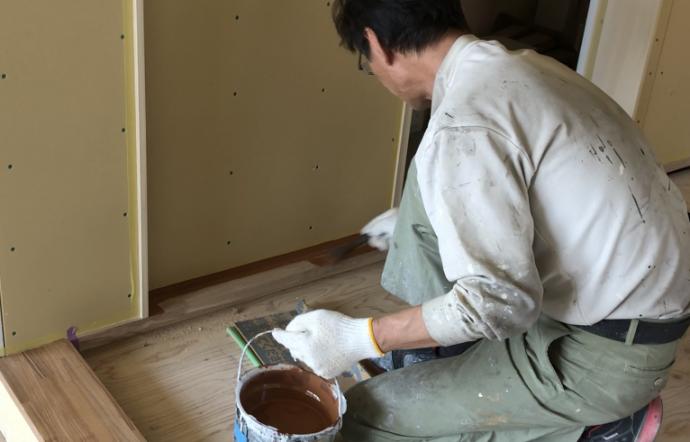 Yms邸/内部塗装