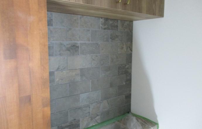 Ymn邸/キッチン、内装工事