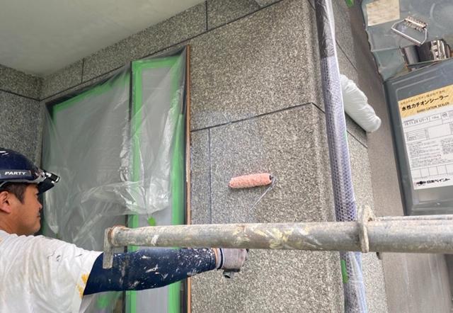 Ymg邸/外壁塗装