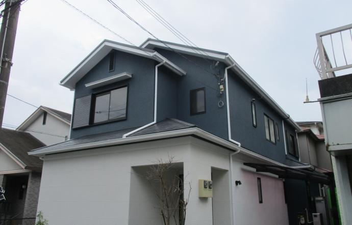 Ymg邸/外壁工事